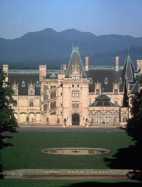 The East Facade of Biltmore House
